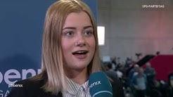 Lilly Blaudszun (JUSOS Brandenburg) im Interview am 07.12.19