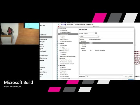 Visual Studio for Mac Tips & Tricks : Build 2018