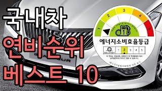 [랭킹쇼 Ranking Show] 2014 국내차 연비…