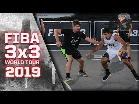 Piran V São Paulo DC | Full Game | FIBA 3x3 World Tour - Los Angeles Masters 2019