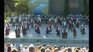 II. Latgales novadu deju kolektīvu sadancis Krāslavā
