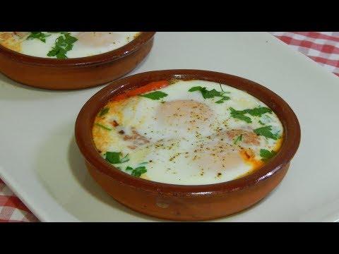 Cómo hacer unos deliciosos huevos arrabbiata Receta fácil