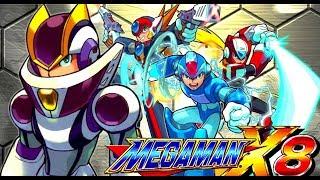MEGAMAN X8 GAMEPLAY (PC) PART # 1 O INICIO