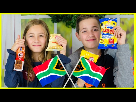 TREATS FROM SOUTH AFRICA! TASTE TEST, CANDY, SWEETS & SNACKS
