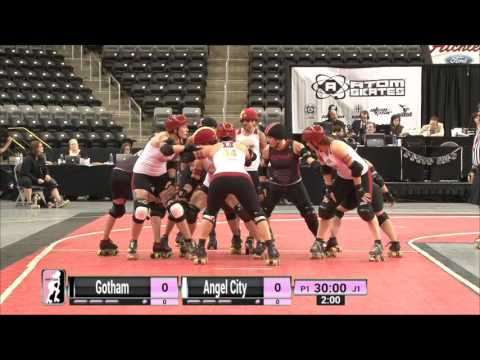 WFTDA Roller Derby: Game 17: Gotham Girls Roller Derby v Angel City Derby Girls