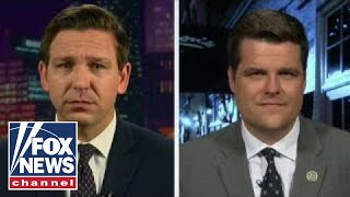 Reps. Matt Gaetz and Ron DeSantis on the IG report fallout