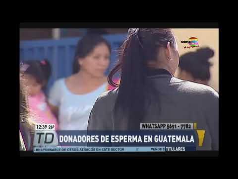 Donadores de esperma en Guatemala, una esperanza para crear familia