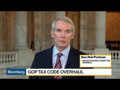 Sen. Rob Portman on GOP Tax Code Overhaul