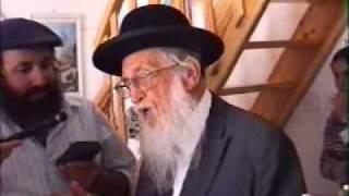 רבי דוב כהן על ביקורו של הרבי מגור בחברון לפני תרפ''ט