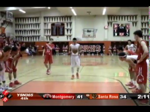 GAME OF THE WEEK: Montgomery vs Santa Rosa, 1-25-16