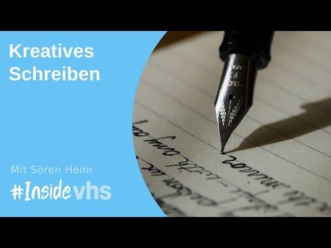 #insidevhs - Kreativ Schreiben Mit Sören Heim