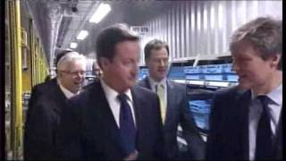 Nick Clegg's unguarded comment caught on camera