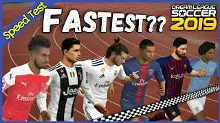 Fastest Player in Dream League Soccer 2019 • dls19 #dls19
