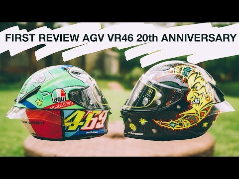 FIRST UNBOXING AGV PISTA GPR VR46 20TH ANNIVERSARY