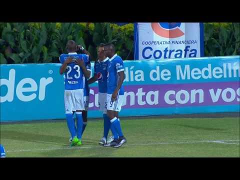 Santiago Mosquera definió de gran manera, tras una buena jugada colectiva | Win Sports