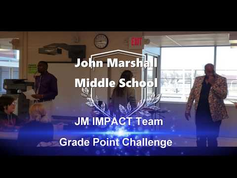 John Marshall Middle School -  JM IMPACT Team Grade Point Challenge - January 24, 2020 - RMC News