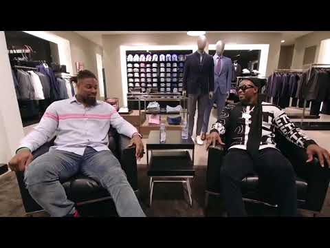 Deion Sanders takes Cam Jordan shopping at the Mall of America