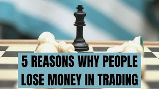 5 reasons why people lose money in Forex Trading (sous titres en français)