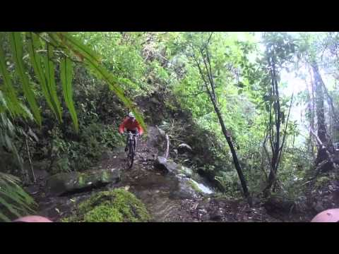 """Mt Te Aroha Mountain Bike Ride"""