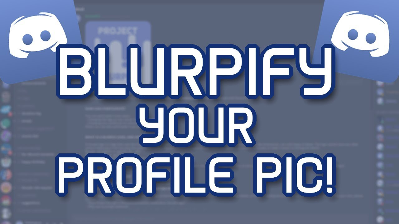 [NO LONGER AVAILABLE] How to Make A Discord Profile Picture in Blurple! |  Hut Tutorials