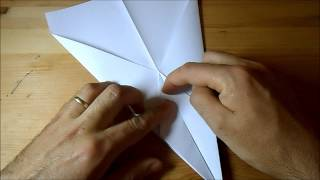 Origami - Jet Fighter (step By Step)