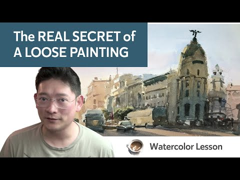 Real Secret of a Loose Painting - Visual Language