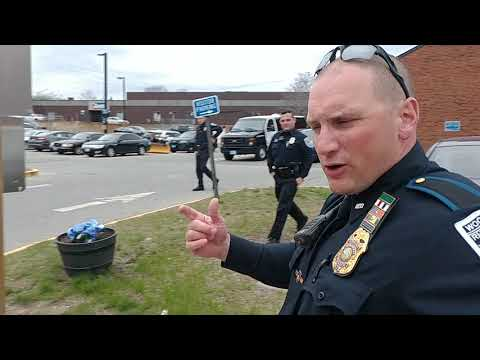 Auditing America illegally Arrested by Woonsocket Police