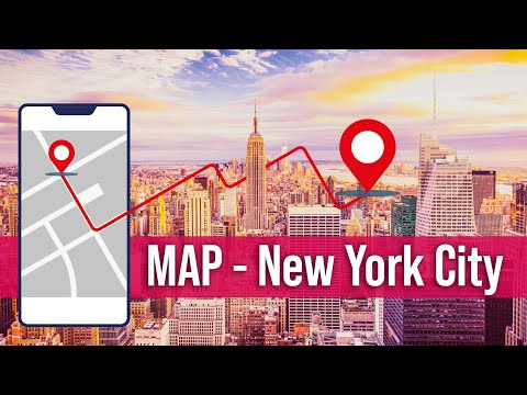 NYC Map | Attractions – Where are things located in New York City?