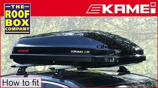 KAMEI - Roof box - Corvara S - How to fit