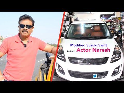 Cars Bikes & Guys | Modified Suzuki Swift  Review By Actor Naresh ll Akshay
