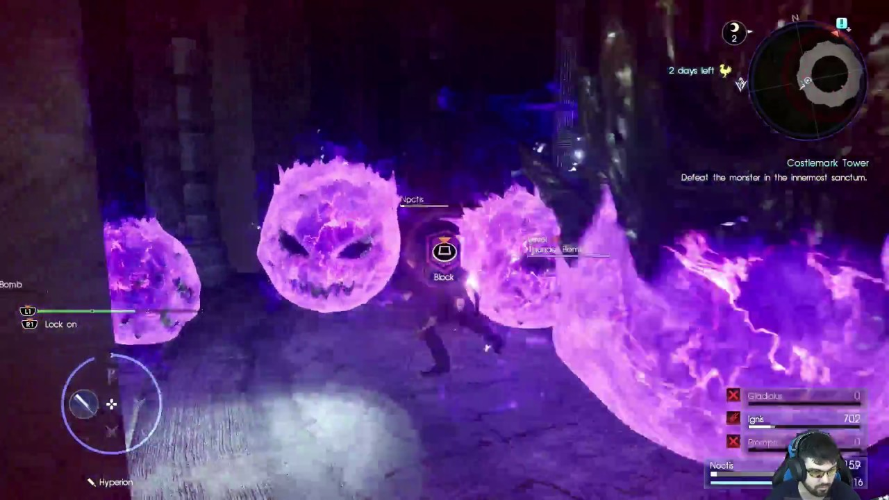 Bilfrost A Menace Sleeps In Costlemark Tower Lvl 99 No Items No Weapons Ffxv By Charles Guthrie