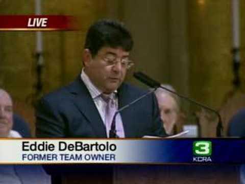 DeBartolo Speaks At Walsh Memorial