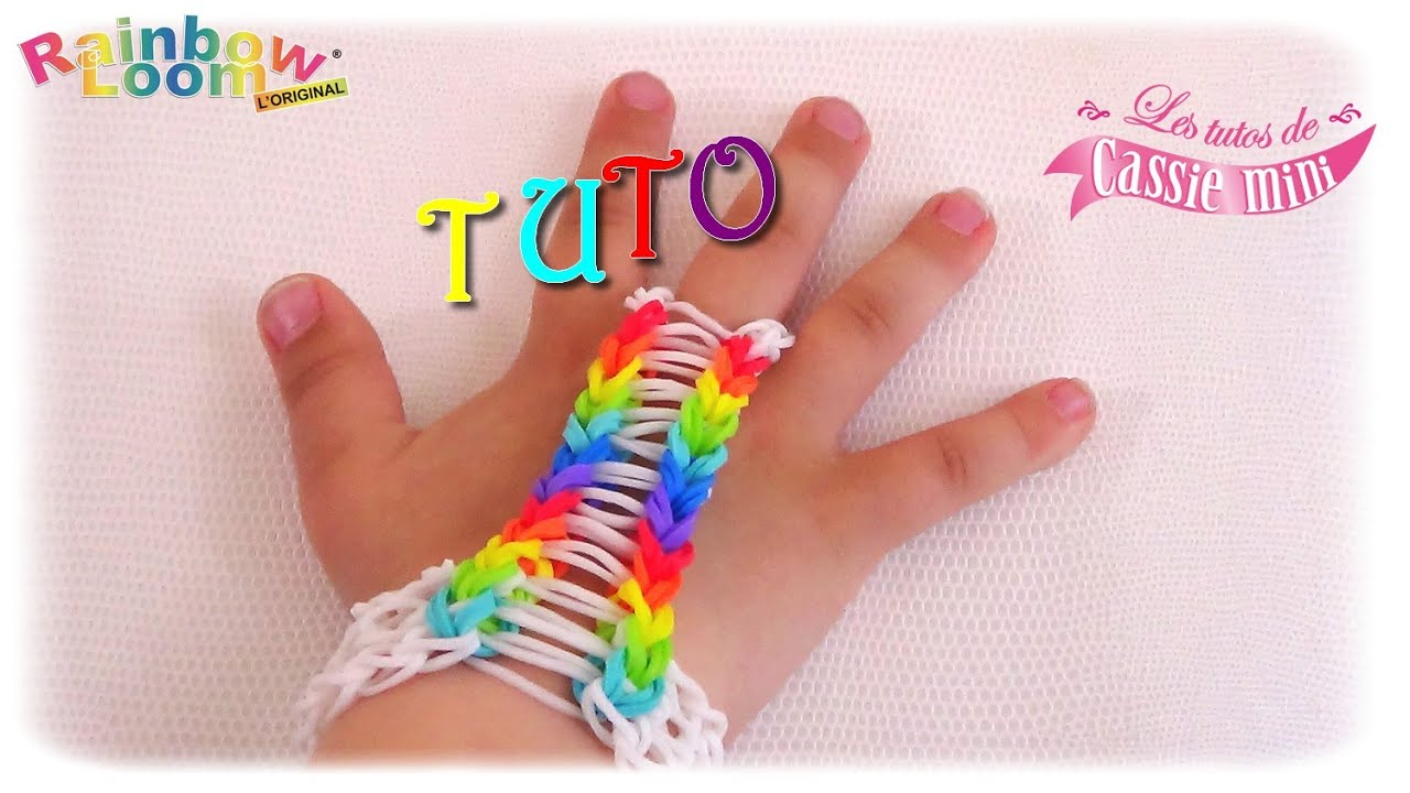 tuto bracelet bague en lastique rainbow loom youtube. Black Bedroom Furniture Sets. Home Design Ideas