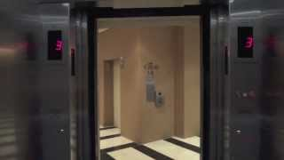 Schindler Miconic 10 Traction Elevators - New York Marriott Marquis - New York, NY [High-Rise]