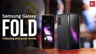 Samsung Galaxy Fold: Unboxing, hands-on and key features