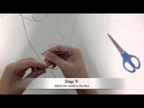 How to make a wire sculpture
