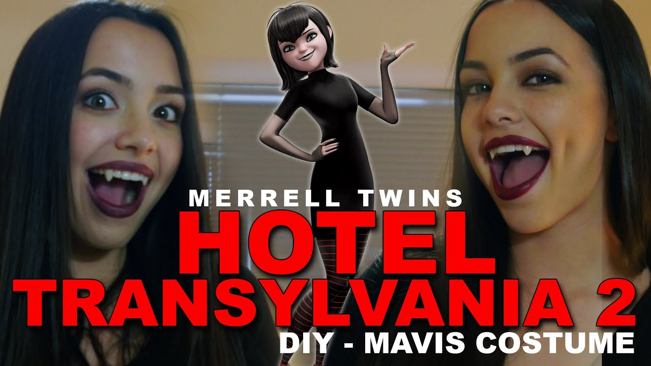 Hotel Transylvania 2 DIY Costume for Mavis Merrell Twins