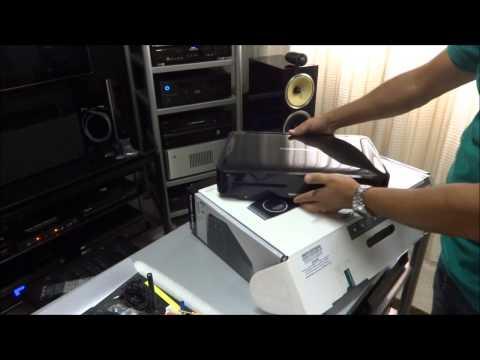 Teste receiver com Blu ray integrado Harman Kardon