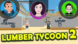 I had to show CodePrime8 and Mumazing the big surprise in Roblox Lumber Tycoon 2!!