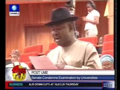 Post UME:Senate describes action illegal