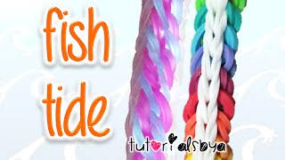 NEW Fish Tide Rainbow Loom Bracelet Tutorial | How To Thumbnail