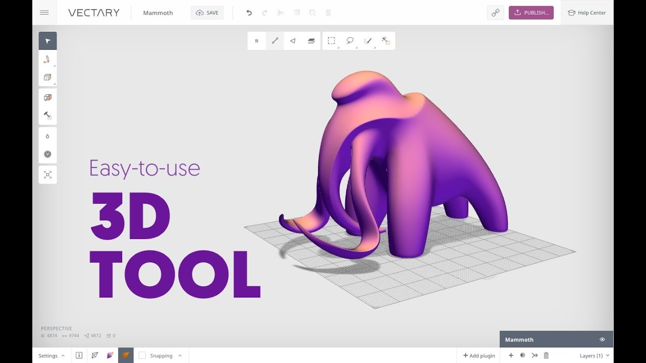 VECTARY Demo | Free 3D modeling software