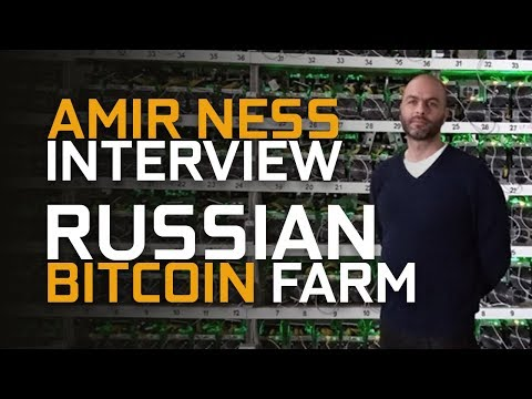 One Of The Largest Crypto Farms In Russia Interview!