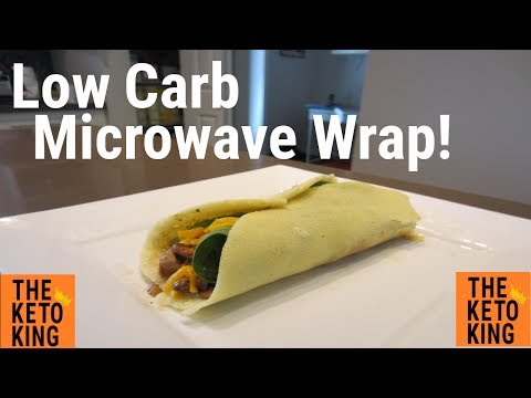 microwave-low-carb-wrap-|-keto-wrap-|-only-4-ingredients!