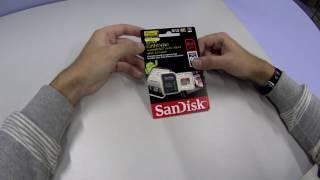 Карта памяти microSDXC UHS-I U3 SANDISK запись 4K(Карта памяти microSDXC UHS-I U3 SANDISK Extreme 64 ГБ Какую карту памяти выбрать для экшен камеры? Подходит для записи 4K..., 2016-12-02T23:48:51.000Z)