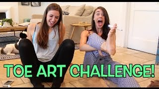 TOE ART CHALLENGE!