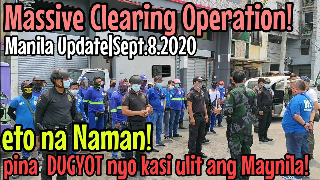 Download Massive Clearing Operation|MPD station 1|DPS district 1|DPS QRT