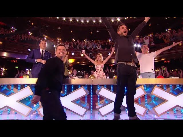 The First Golden Buzzer Britain's Got Talent 2018 | Magic & Emotion Make You Cry #1