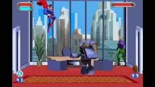Justice League: Injustice For All GBA Game - Metropolis