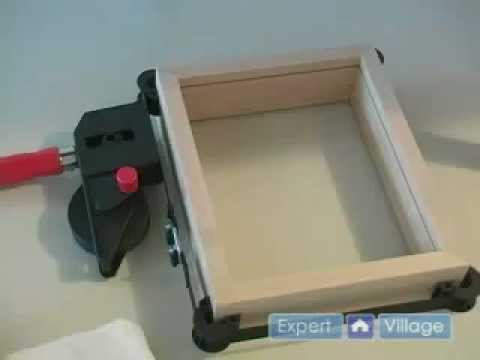 Woodworking Plans - Assembling Frame for Shadow Box Frame - YouTube